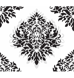 Vintage Damask Pattern ornament vector image