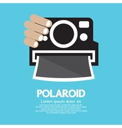 Polaroid Camera vector image