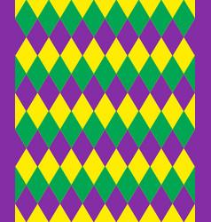 mardi gras abstract geometric pattern purple vector image