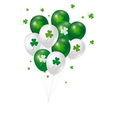 st patricks day background design vector image