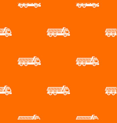truck pattern seamless vector image