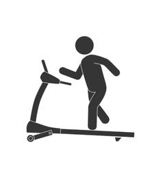 walker gym equipment vector image