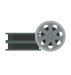 Film cinema technology vector image