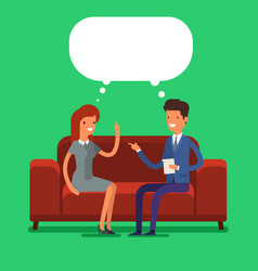 Psychological counseling concept vector
