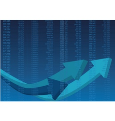 Business data vector image vector image