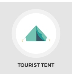 Tourist Tent Icon vector image vector image