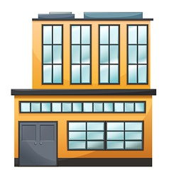 A big building vector image