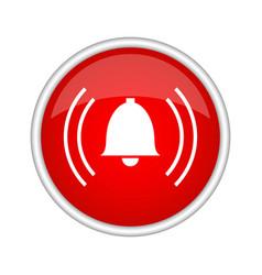 alarm icon vector image