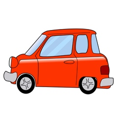 Cartoon minicar vector