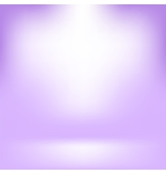 Empty Studio Light Purple Abstract Background vector