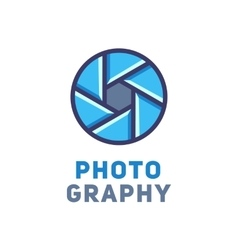 Logo for the photographer vector
