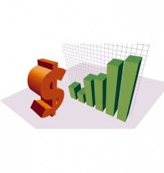 money graphic vector image