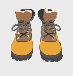 Tour boots 03 vector