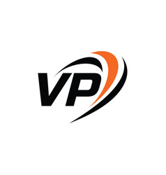 Vp monogram logo vector
