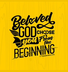 bible lettering and christian art vector image