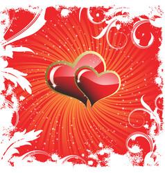 Valentine's background vector image