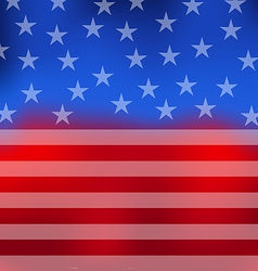 Abstract american flag for 4th july vector