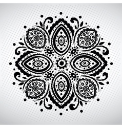Beautiful ethnic ornament vector