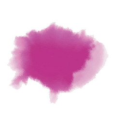 Colorful pink magenta watercolor background for vector