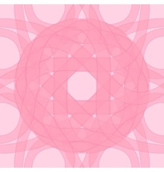 Decorative pattern pink of circular vector