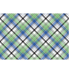Diagonal check plaid texture seamless pattern vector