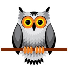 owl vs vector image