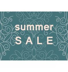Summer Sale commercial banner vector image