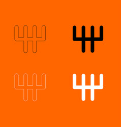 Speed shifter icon vector