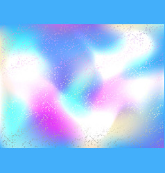 Holographic background vector