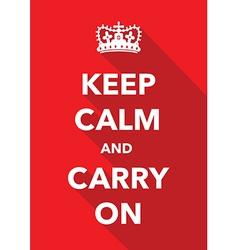 keep calm signs set vector image