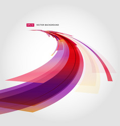 abstract background element in red and white vector image vector image