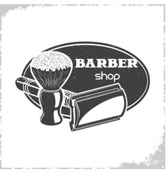 Barbers shop logo vector