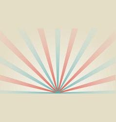 abstract starburst background sunlight retro vector image