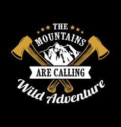 Adventure funny quote and saying vector