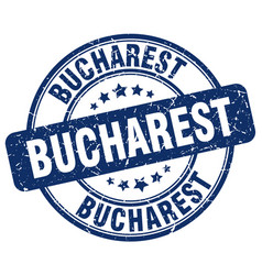Bucharest stamp vector