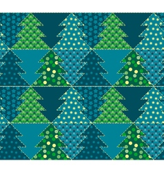 Christmas tree blue color abstract background in vector