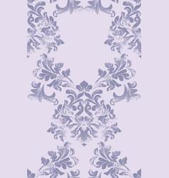 Damask pattern element classic luxury vector