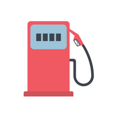 gas station pump icon vector image