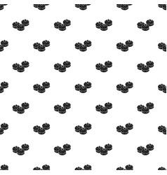hanukkah bakery pattern seamless vector image