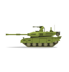 military tank heavy equipment armored corps vector image