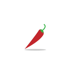 red hot chilli vector image