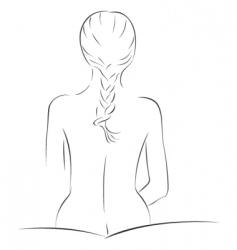 Sensual sketch vector