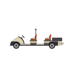 Tow truck isolated icon vector