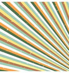 Abstract retro lines vector image vector image