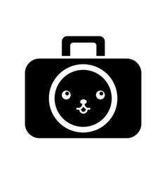 kawaii graphic design camera studio cartoon vector image