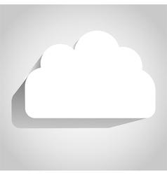 3D Cloud vector image