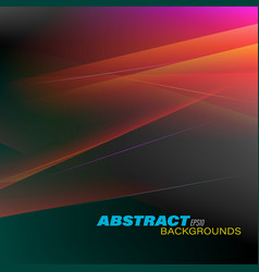 Abstract colors motion vector