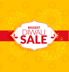 Awesome diwali sale background design vector