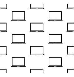 Computer notebook seamless vector