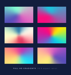 gradient backgrounds soft color blend theme vector image